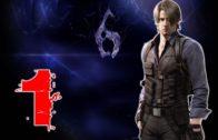Resident Evil 6 Leon playthrough