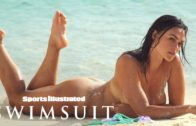 Myla Dalbesio gets Wet & wears Nothing but Sand